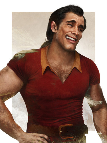 Disney Villains hình nền titled Real Life Gaston