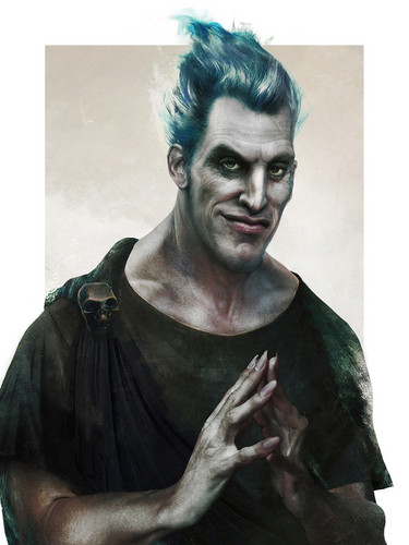 Disney Villains achtergrond called Real Life Hades