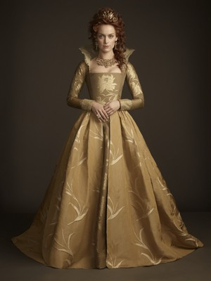 Reign Season 3 皇后乐队 Elizabeth of England portrait