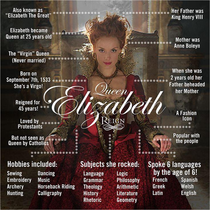 Reign Season 3 queen Elizabeth promotional picture