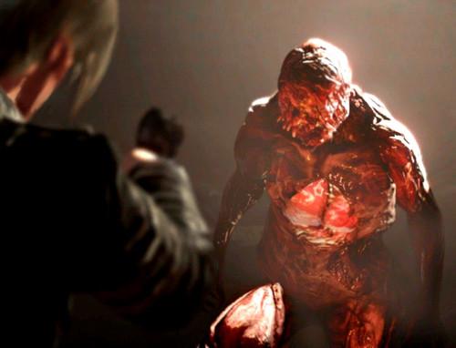Leon Kennedy 바탕화면 called Resident Evil 6 - Bloodshot 로딩 Screen