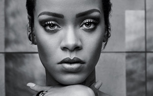 Rihanna for T magazine