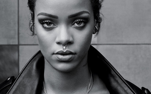 Rihanna wallpaper probably containing a portrait called Rihanna for T magazine