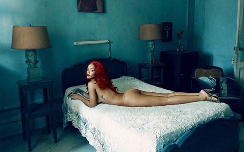 Rihanna fond d'écran with a living room called Rihanna for Vanity Fair