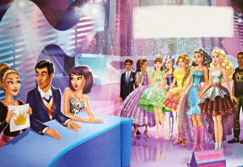 film barbie wallpaper possibly containing a parasol titled Rock 'n Royals book pictures