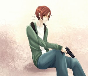 Romano and his gun
