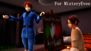 Romano learns how to paint