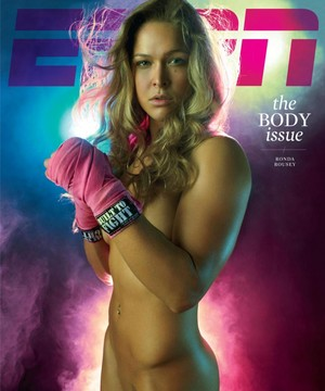 Ronda Rousey - ESPN Body Issue Cover - 2012