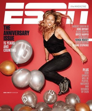Ronda Rousey - ESPN's 15th Anniversary Cover - May 2015
