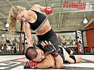 Ronda Rousey - Fitness RX Photoshoot - 2013