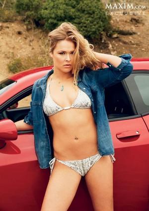 Ronda Rousey - Maxim Photoshoot - September 2013
