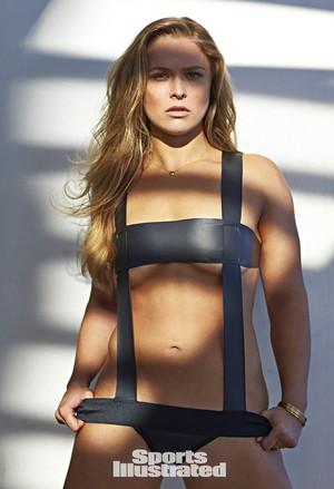 Ronda Rousey - Sports Illustrated Swimsuit Issue Photoshoot - 2015