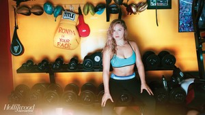 Ronda Rousey - The Hollywood Reporter Photoshoot - 2014