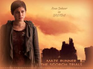 Rosa Salazar as BRENDA