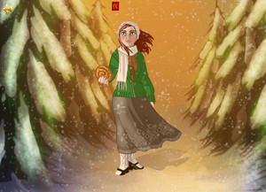 Rose Dyson in Winter