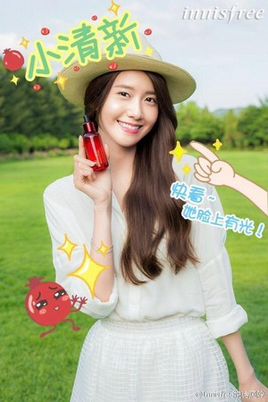 "SNSD Yoona for ""innisfree"" Promotion"