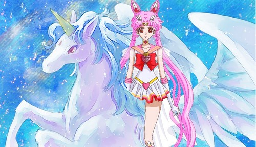 Sailor Moon Crystal wallpaper called Sailor Chibimoon on Pegasus