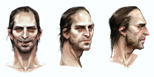 Samson concept art in The Art of Dragon Age: Inquisition