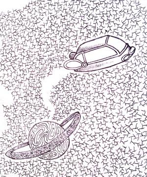 Sci-Fi Doodle