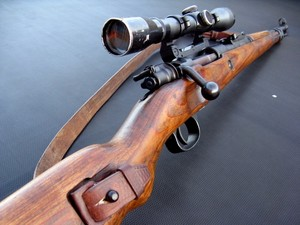 Scoped Mauser