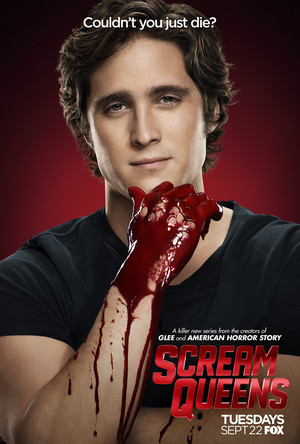 Scream Queens Poster - Diego Boneta as Pete Martinez
