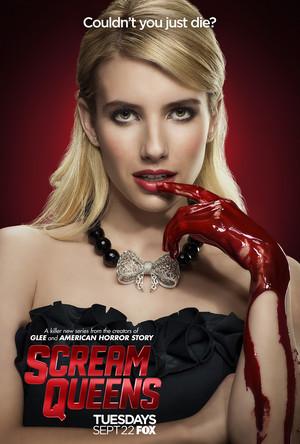 Scream Queens Poster - Emma Roberts as Chanel Oberlin