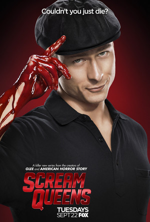 Scream Queens Poster - Glen Powell as Chad Radwell