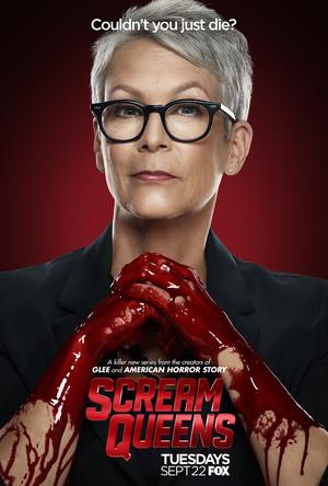 Scream Queens Poster - Jamie Lee Curtis as Dean Cathy Munsch