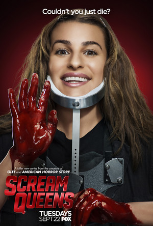 Scream Queens Poster - Lea Michele as Hester Ulrich