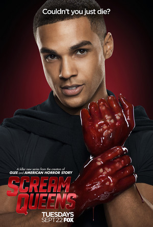 Scream Queens Poster - Lucien Laviscount as Earl Grey