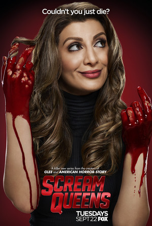 Scream Queens Poster - Nasim Pedrad as Gigi Caldwell