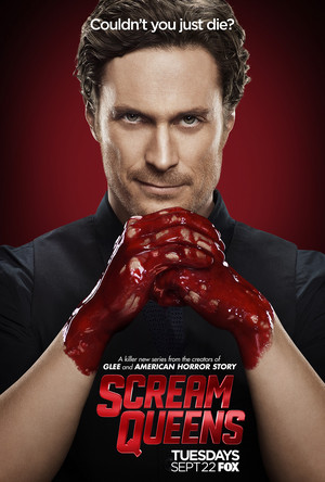 Scream Queens Poster - Oliver Hudson as Wes Gardner