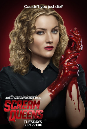 Scream Queens Poster - Skyler Samuels as Grace Gardner