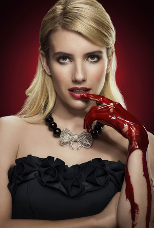 Scream Queens - Season 1 Portrait - Emma Roberts as Chanel Oberlin