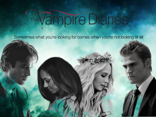 the vampire diaries série de televisão wallpaper entitled Season 7