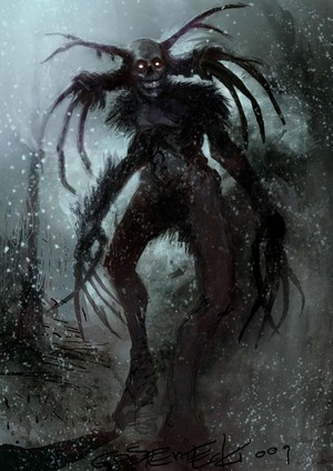 Shadows of the DAMNED Concept Art - Dark Demon