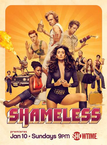 Shameless (US) wallpaper probably containing animê titled Shameless - Season 6 Poster