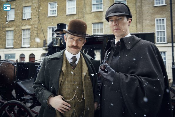 Sherlock Special - The Abominable Bride - First Look Photos
