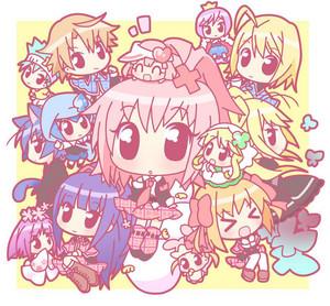 Shugo Chara Chibi Characters