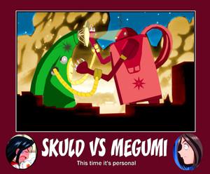 Skuld vs Megumi
