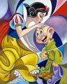 Snow White and Dopey - disney-princess fan art