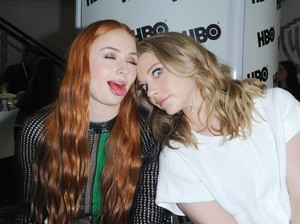 Sophie Turner and Natalie Dormer at 2015 San Diego Comic Con