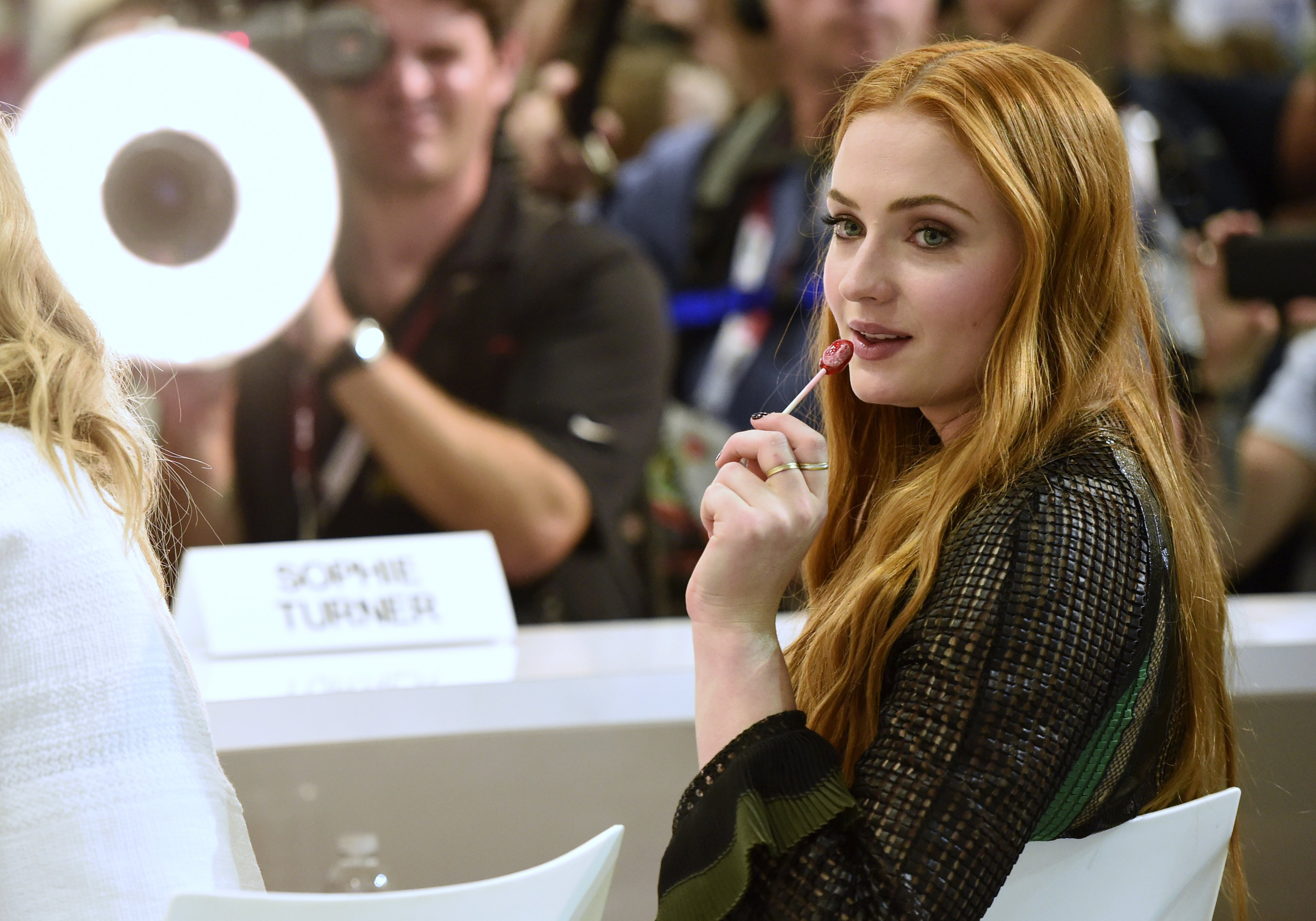 Sophie Turner at 2015 San Diego Comic Con