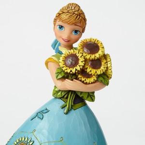 Spring In Bloom-Frozen Fever Anna Figurine