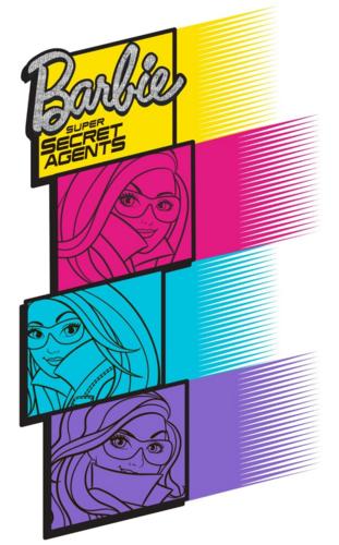Barbie pelikula wolpeyper probably containing a videocassette titled Spy Squad Super Secret Agents