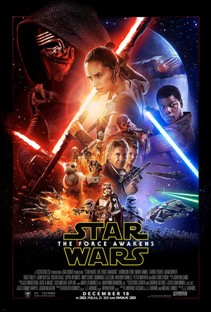 星, つ星 Wars: Episode VII - The Force Awakens (2015) Poster HQ