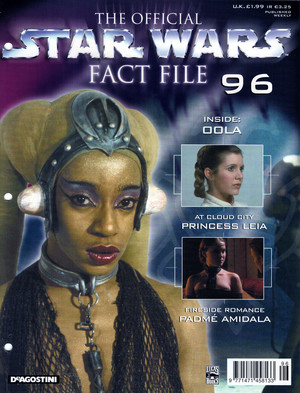 étoile, star Wars Fact File 96 Oola