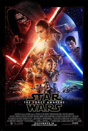 звезда Wars: The Force Awakens - NEW Poster