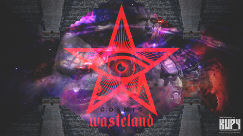 WWE Hintergrund probably containing a straße and Anime titled Stardust and The Ascension