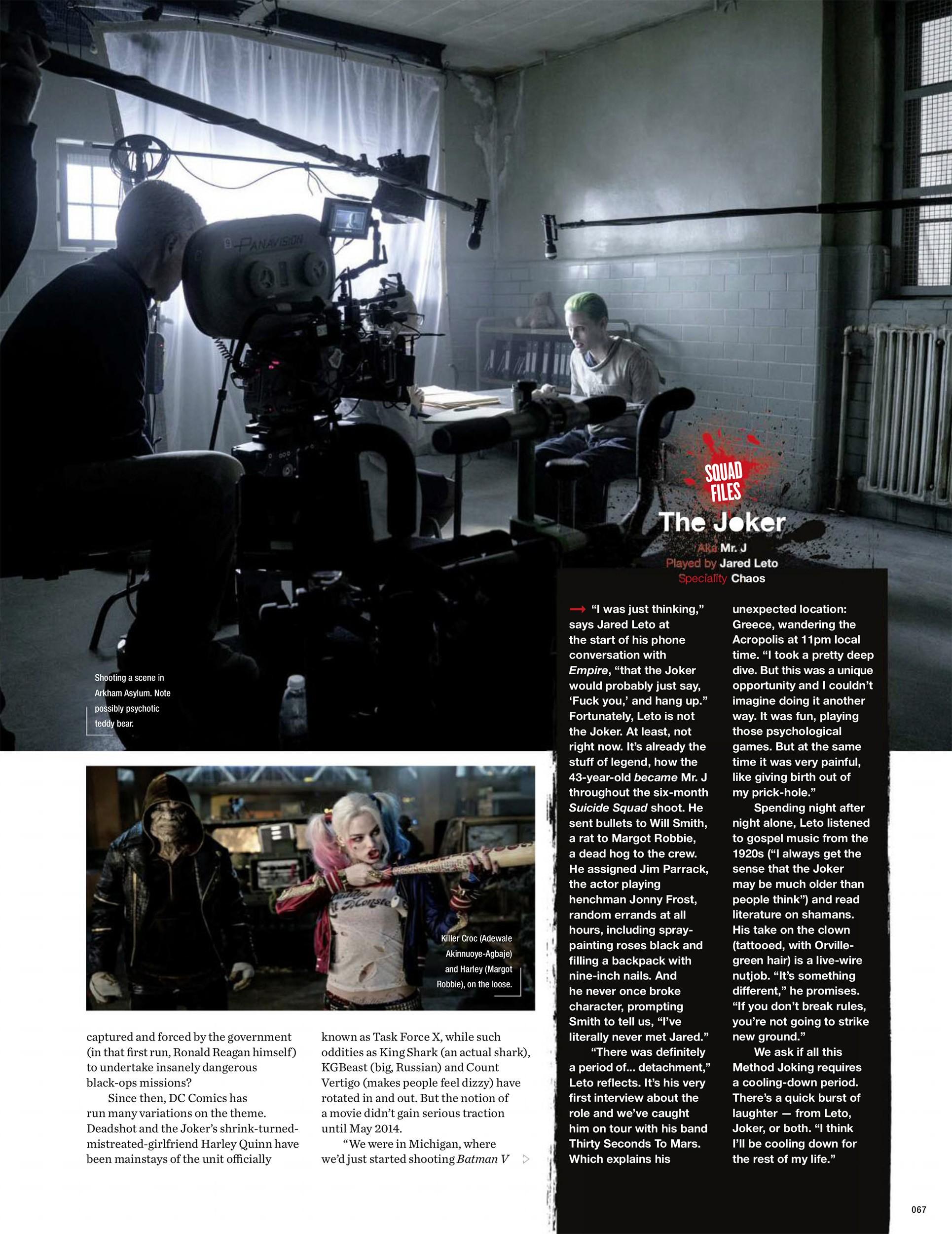 Suicide Squad Artikel In Empire Magazine 3 Suicide Squad